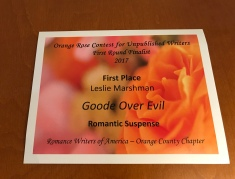 Orange Rose Cert